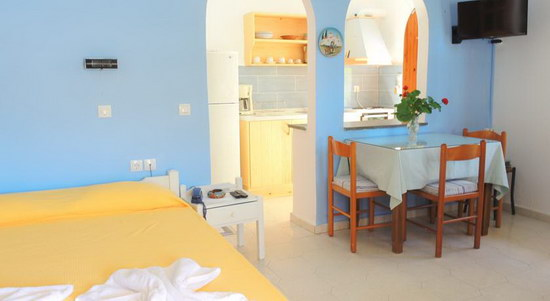 Studios for rent in Agia Pelagia Crete Island Greece